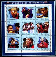 Olympics 2000 - Table Tennis - GUINEA BISSAU - Sheet Perf. MNH** - Estate 2000: Sydney