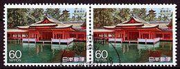 (1780) Japan 1988 National Treasures O Used/gestempelt Waagrechtes Paar (A-8-11) - Used Stamps