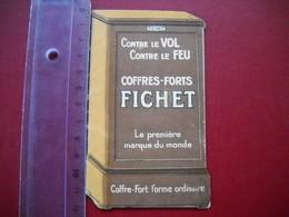 Petit Carnet Publicitaire Pour Les Coffres Forts FICHET . 16 Pages . 6 Photos . - Pubblicitari