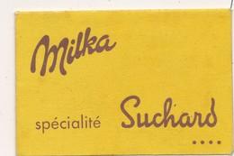 J59 - Publicité - MILKA Spécialité SUCHARD - Au Centre, Découpis Du Chien Saint-Bernard, Mascotte De La Marque Milka - Werbung