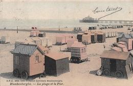 Blankenberghe - La Plage Et Le Pier En 1908 - Blankenberge
