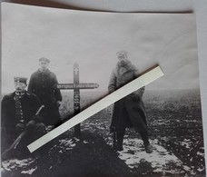 1918 Tombe D'un Soldat Allemand Bay Ir 167 Inhummé Par Les Français Karabiner K98 Poilu Tranchée 14 18 1 Ww1 Photo - War, Military
