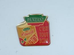 Pin's RAVIOLI PANZANI C EST TOUT BON - Alimentation