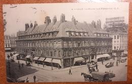 Lille..la Bourse  Animée.1906.Animée - Lille