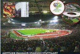 BRD 2006 Fußball- WM , Offizielle Stadion- AK Als MK, Gottlieb-Daimler-Stadion Stuttgart - 2006 – Germania