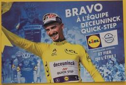 Cyclisme :  Tour De France , Julian Alaphilippe, Maillot Jaune - Wielrennen