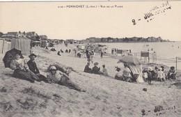 44. PORNICHET. VUE DE LA PLAGE . ANIMATION. ANNEE 1911 - Pornichet