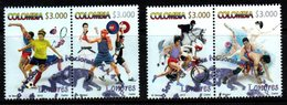 A653C- KOLUMBIEN 2012 - USED - LONDON OLYMPIC GAMES - Kolumbien