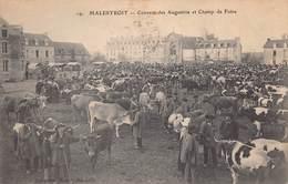 MALESTROIT  - Couvent Des Augustines Et Champ De FOIRE ( Tres Animée) - Malestroit