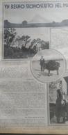 TRIBUNA ILLUSTRATA 1932 ISOLA DI TAVOLARA LA MADDALENA CORMONS ROMA SOTTERRANEA - Sonstige
