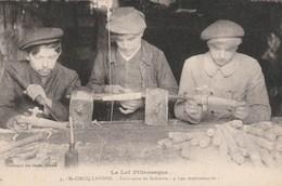 CPA Top Collection - Fabricants De Robinets En Bois - St Cirq Lapopie - Artisanat