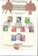 Schon Etwas Angegriffene Sammerkarte Von 1938 - Lettres & Documents