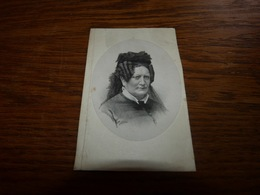 Souvenir Adelaïde Praet Geill Bruges 1809 Gand 1879 - Todesanzeige