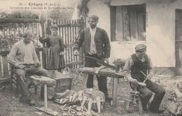 CPA Top Collection - Fabricants De Louches Et De Robinets En Bois- Créquy (P-de-C) - Artisanat