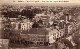 REIMS PANORAMA SUD VUE EGLISE SAINT ANDRE - Reims