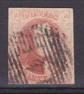 N°  8 Bien  Margé :  4 Anvers  Prix Fixe Achat Immediat - 1851-1857 Médaillons (6/8)