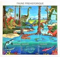 Gabon 2000**Mi.1636-47 Prehistoric Fauna, MNH [12;181] - Briefmarken