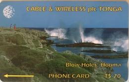 TONGA  -  Phonecards  - Cable § Wireless  - - Tonga