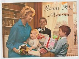 CARTE MUSICALE « MUSICARTE » N° 205 / Bonne Fête ! Maman .. 1958 - Formats Spéciaux