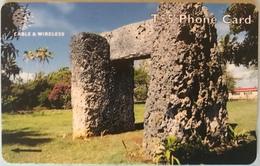 TONGA  -  Phonecards  - Cable § Wireless  - Ha'amonga - Tonga