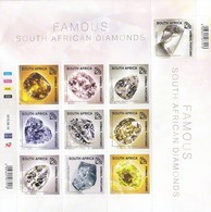 South Africa RSA - 2019 - Famous South  African Diamonds - Minerals Precious Stones - Minerals