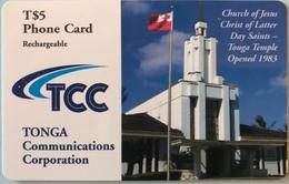 TONGA  -  Phonecards  - TCC - T$5 - Tonga