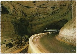 09 Grotte Du Mas D'Azil Passage Souterrain De La RN 119 (2 Scans) - France