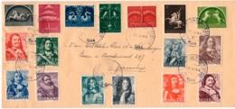 NEDERLAND BRIEF MET AFSTEMPELING OP 10 MEI 1944 - 1891-1948 (Wilhelmine)