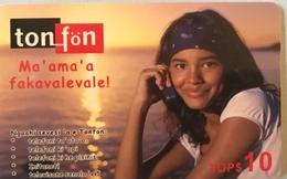 TONGA  -  Phonecards  - Ton-fön - TOPS10 - Tonga