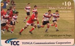 TONGA  -  Phonecard  - TCC - Sport - $10 - Tonga