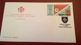 SMOM 2008 CONVENZIONE CON VATICANO - FDC - Sovrano Militare Ordine Di Malta