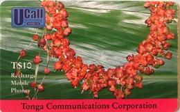 TONGA  -  Phonecard  - TCC - $10 - Tonga