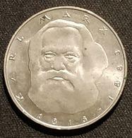 ALLEMAGNE - 5 DEUTSCHE MARK 1983 - Karl Marx - [ 7] 1949-…: BRD