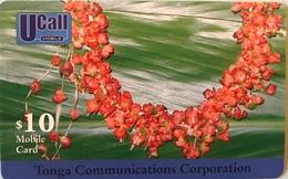 TONGA  -  Prepaid  - TCC - $10 - Tonga