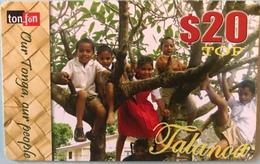 TONGA  -  Prepaid  - Ton-fön - $20 - Tonga