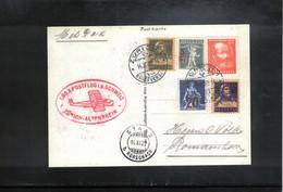 Switzerland Interesting Facsimile Of The Postcard For The 1. DO.X Post Flight In Switzerland Zuerich - Altenrhein - Poste Aérienne