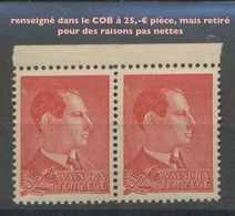 Vignette DEGRELLE. Général De La Légion Wallonie. Coté 25,- € Pièce - Guerre Mondiale (Seconde)