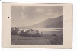 Carte Photo Du Lac D'Aiguebelette - Non Classificati