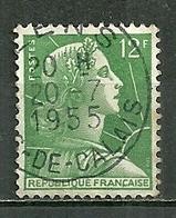 FRANCE Oblitéré 1010 Marianne De Muller - Gebraucht
