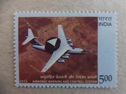 AVIATION - INDIA INDE 2012 - MNH ** AWACS - Flugzeuge