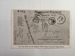 Postkarte Briefmarken-Ausstellung 1915 Zurich - Schweiz