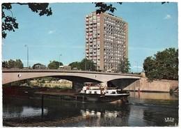 57 Thionville Le Pont Des Alliés Et L'Européen (2 Scans) - Thionville