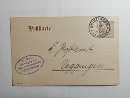 Deutsches Reich Postkarte 1910 K. Wurt. - Allemagne
