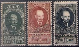 Russia 1928, Michel Nr 358A-60A, Used - Usati