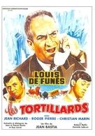 De Funès Jean Richard Christian Marin Les Tortillards - Posters On Cards