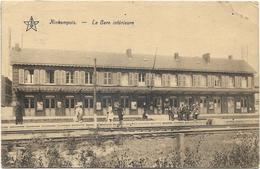 Kinkempois- Angleur - La Gare Intérieure 1925 ( Animation ) Carte LG - Liege