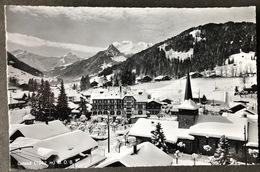 Gstaad MOB Dorfansicht Im Winter - BE Berne