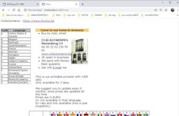Cataogue Digital Version Online, Conversion List, Numerical, Prices, Photos, Dates Of All Sets, Titles & Languages - Albums & Catalogues