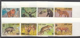 Vietnam 1981 - Animals Of Cuc Phuong National Park - Imperforated, Canceled - Vietnam