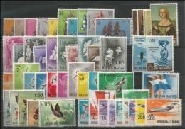 SAN MARINO - 1963 - Annata Completa + Posta Aerea - 51 Valori - Year Complete ** MNH/VF - Full Years